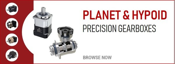 Planetary & Hypoid Precision Gearboxes