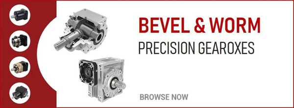 Bevel & Worm Precision Gearboxes